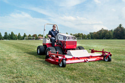 Ventrac 4500 tractor with contour deck